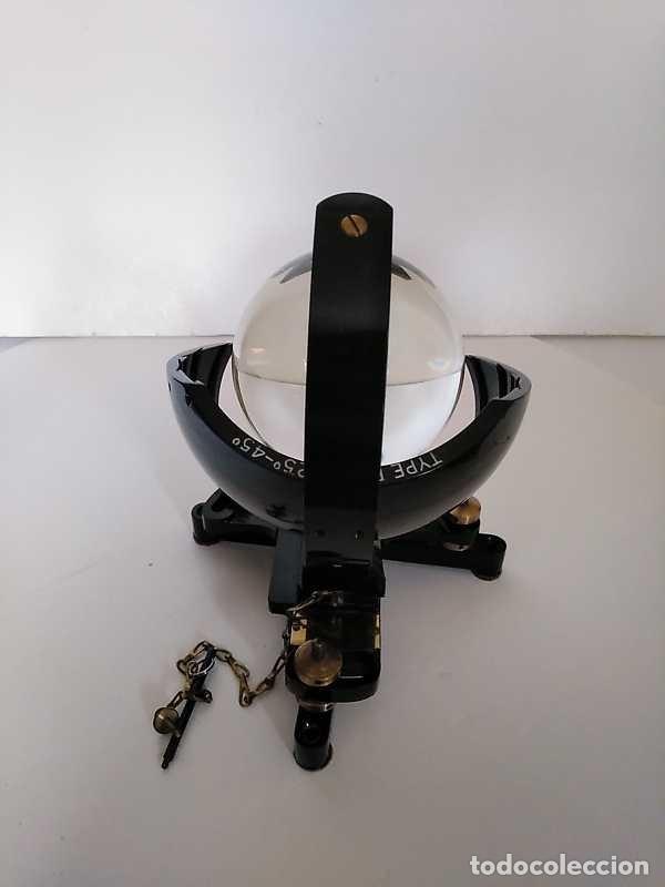 Antigüedades: HELIOGRAFO CAMPBELL STOKES SUNSHINE RECORDER NEGRETTI & ZAMBRA LONDON GRABADOR DE LUZ SOLAR HELIOGRA - Foto 146 - 180193120