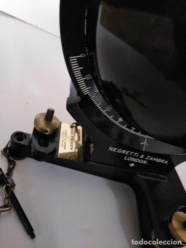 Antigüedades: HELIOGRAFO CAMPBELL STOKES SUNSHINE RECORDER NEGRETTI & ZAMBRA LONDON GRABADOR DE LUZ SOLAR HELIOGRA - Foto 149 - 180193120