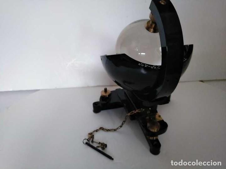 Antigüedades: HELIOGRAFO CAMPBELL STOKES SUNSHINE RECORDER NEGRETTI & ZAMBRA LONDON GRABADOR DE LUZ SOLAR HELIOGRA - Foto 159 - 180193120