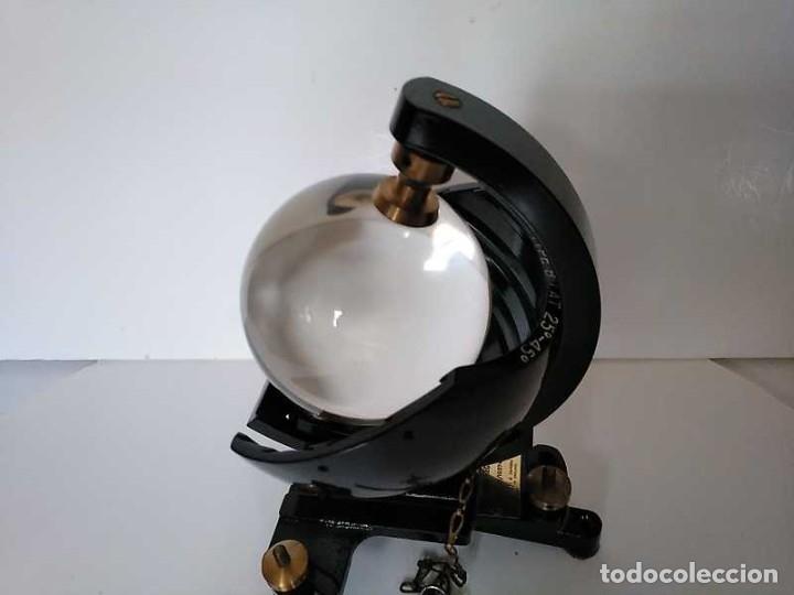 Antigüedades: HELIOGRAFO CAMPBELL STOKES SUNSHINE RECORDER NEGRETTI & ZAMBRA LONDON GRABADOR DE LUZ SOLAR HELIOGRA - Foto 161 - 180193120