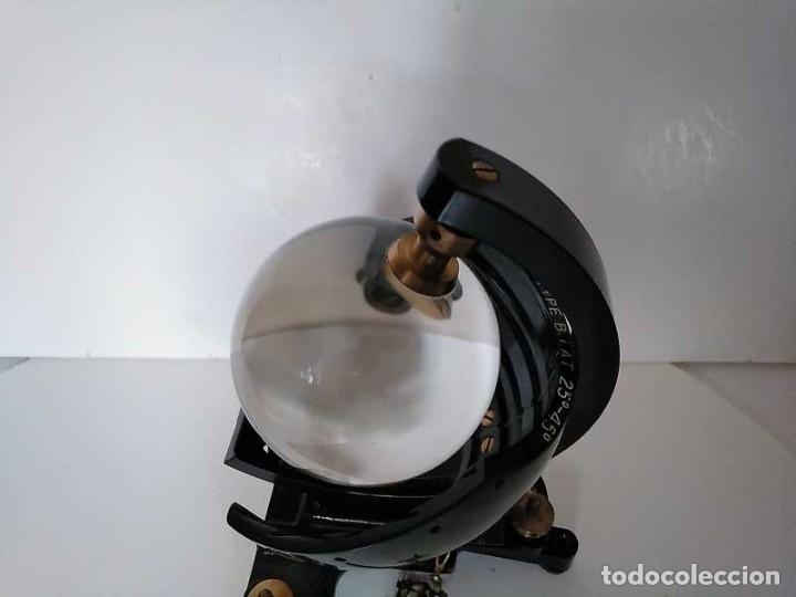 Antigüedades: HELIOGRAFO CAMPBELL STOKES SUNSHINE RECORDER NEGRETTI & ZAMBRA LONDON GRABADOR DE LUZ SOLAR HELIOGRA - Foto 163 - 180193120