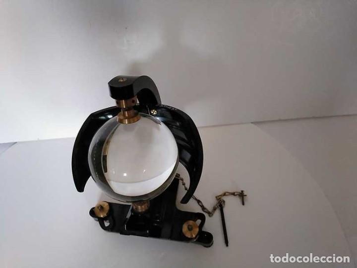 Antigüedades: HELIOGRAFO CAMPBELL STOKES SUNSHINE RECORDER NEGRETTI & ZAMBRA LONDON GRABADOR DE LUZ SOLAR HELIOGRA - Foto 164 - 180193120