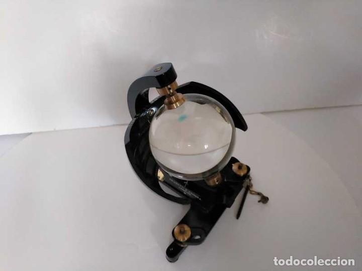 Antigüedades: HELIOGRAFO CAMPBELL STOKES SUNSHINE RECORDER NEGRETTI & ZAMBRA LONDON GRABADOR DE LUZ SOLAR HELIOGRA - Foto 165 - 180193120