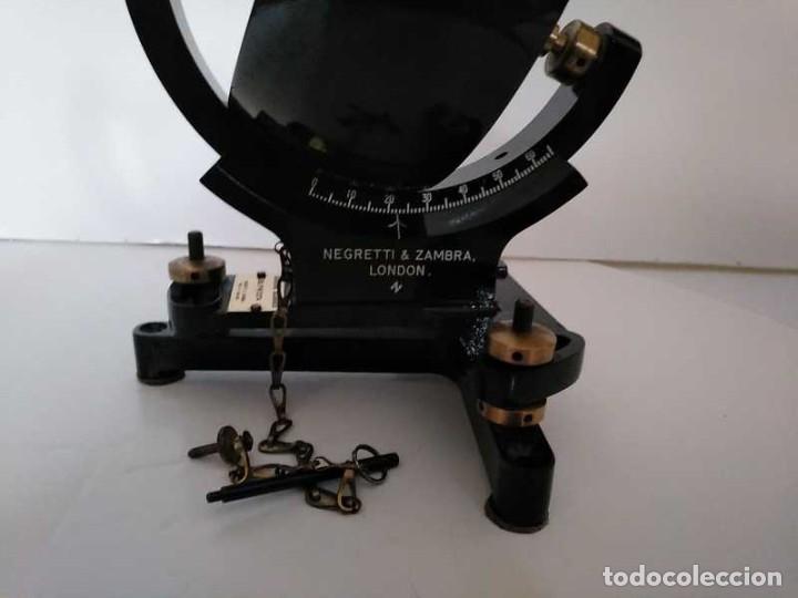 Antigüedades: HELIOGRAFO CAMPBELL STOKES SUNSHINE RECORDER NEGRETTI & ZAMBRA LONDON GRABADOR DE LUZ SOLAR HELIOGRA - Foto 172 - 180193120