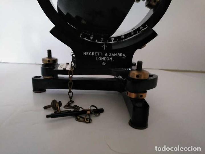 Antigüedades: HELIOGRAFO CAMPBELL STOKES SUNSHINE RECORDER NEGRETTI & ZAMBRA LONDON GRABADOR DE LUZ SOLAR HELIOGRA - Foto 173 - 180193120