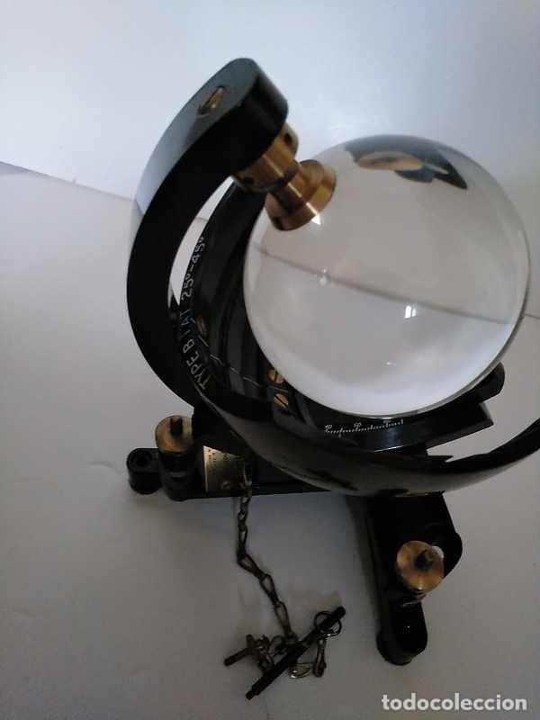 Antigüedades: HELIOGRAFO CAMPBELL STOKES SUNSHINE RECORDER NEGRETTI & ZAMBRA LONDON GRABADOR DE LUZ SOLAR HELIOGRA - Foto 184 - 180193120