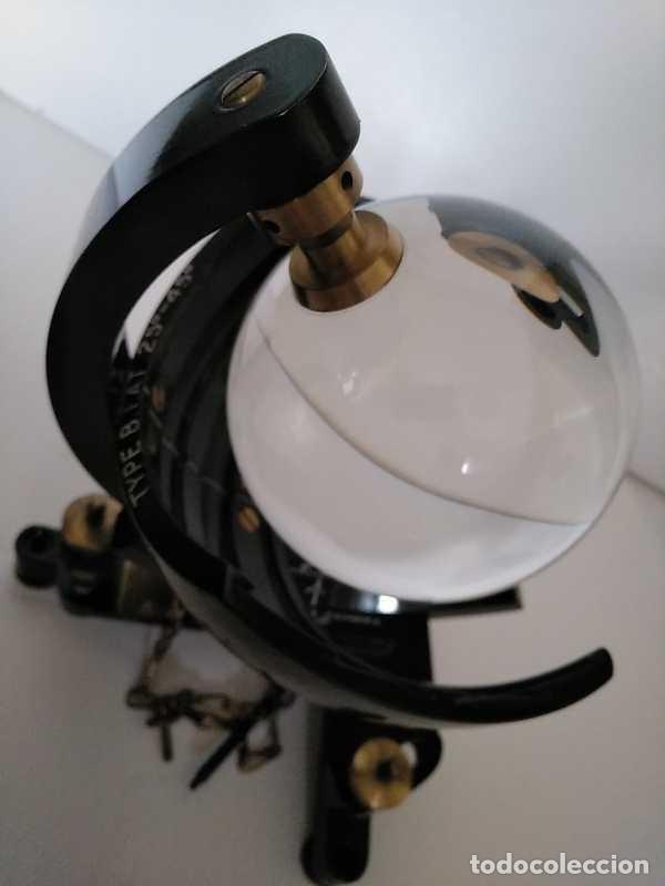 Antigüedades: HELIOGRAFO CAMPBELL STOKES SUNSHINE RECORDER NEGRETTI & ZAMBRA LONDON GRABADOR DE LUZ SOLAR HELIOGRA - Foto 185 - 180193120