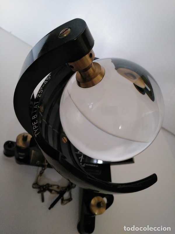 Antigüedades: HELIOGRAFO CAMPBELL STOKES SUNSHINE RECORDER NEGRETTI & ZAMBRA LONDON GRABADOR DE LUZ SOLAR HELIOGRA - Foto 186 - 180193120