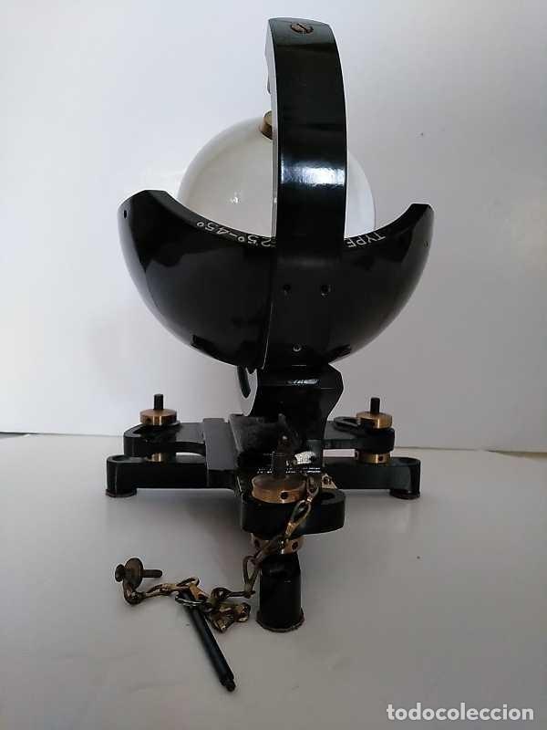 Antigüedades: HELIOGRAFO CAMPBELL STOKES SUNSHINE RECORDER NEGRETTI & ZAMBRA LONDON GRABADOR DE LUZ SOLAR HELIOGRA - Foto 189 - 180193120