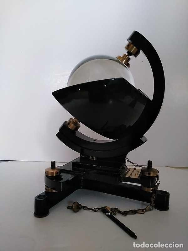 Antigüedades: HELIOGRAFO CAMPBELL STOKES SUNSHINE RECORDER NEGRETTI & ZAMBRA LONDON GRABADOR DE LUZ SOLAR HELIOGRA - Foto 190 - 180193120