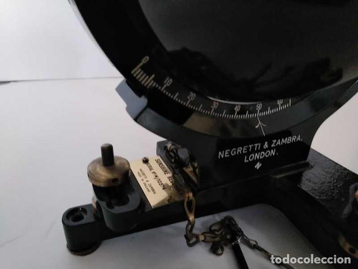 Antigüedades: HELIOGRAFO CAMPBELL STOKES SUNSHINE RECORDER NEGRETTI & ZAMBRA LONDON GRABADOR DE LUZ SOLAR HELIOGRA - Foto 199 - 180193120