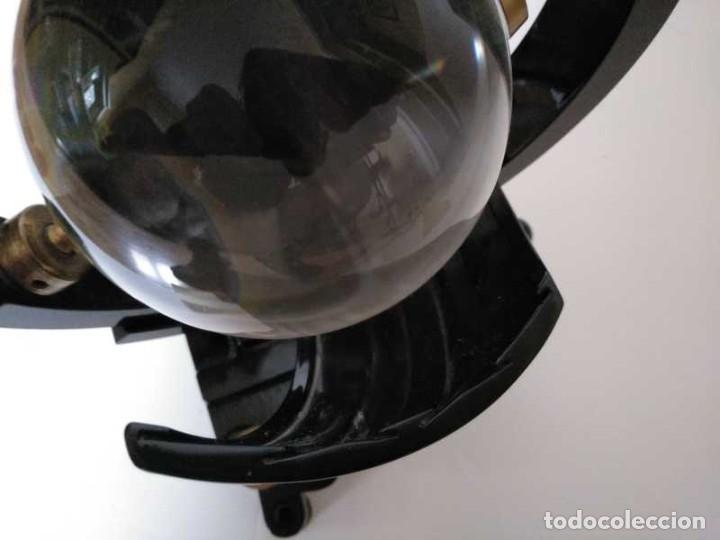 Antigüedades: HELIOGRAFO CAMPBELL STOKES SUNSHINE RECORDER NEGRETTI & ZAMBRA LONDON GRABADOR DE LUZ SOLAR HELIOGRA - Foto 202 - 180193120