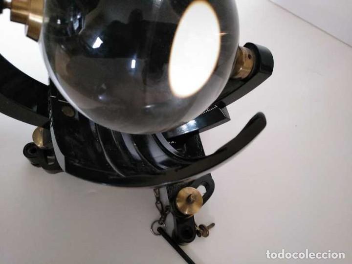 Antigüedades: HELIOGRAFO CAMPBELL STOKES SUNSHINE RECORDER NEGRETTI & ZAMBRA LONDON GRABADOR DE LUZ SOLAR HELIOGRA - Foto 206 - 180193120