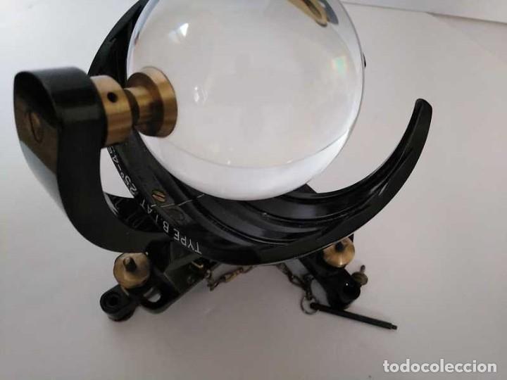 Antigüedades: HELIOGRAFO CAMPBELL STOKES SUNSHINE RECORDER NEGRETTI & ZAMBRA LONDON GRABADOR DE LUZ SOLAR HELIOGRA - Foto 208 - 180193120