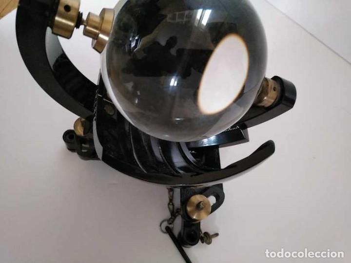 Antigüedades: HELIOGRAFO CAMPBELL STOKES SUNSHINE RECORDER NEGRETTI & ZAMBRA LONDON GRABADOR DE LUZ SOLAR HELIOGRA - Foto 210 - 180193120