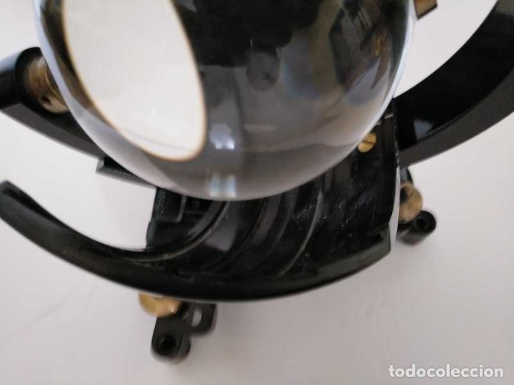 Antigüedades: HELIOGRAFO CAMPBELL STOKES SUNSHINE RECORDER NEGRETTI & ZAMBRA LONDON GRABADOR DE LUZ SOLAR HELIOGRA - Foto 215 - 180193120