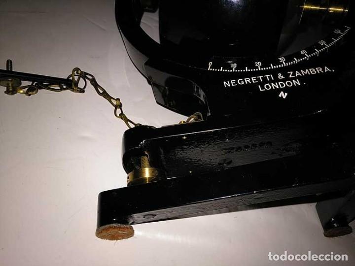 Antigüedades: HELIOGRAFO CAMPBELL STOKES SUNSHINE RECORDER NEGRETTI & ZAMBRA LONDON GRABADOR DE LUZ SOLAR HELIOGRA - Foto 225 - 180193120
