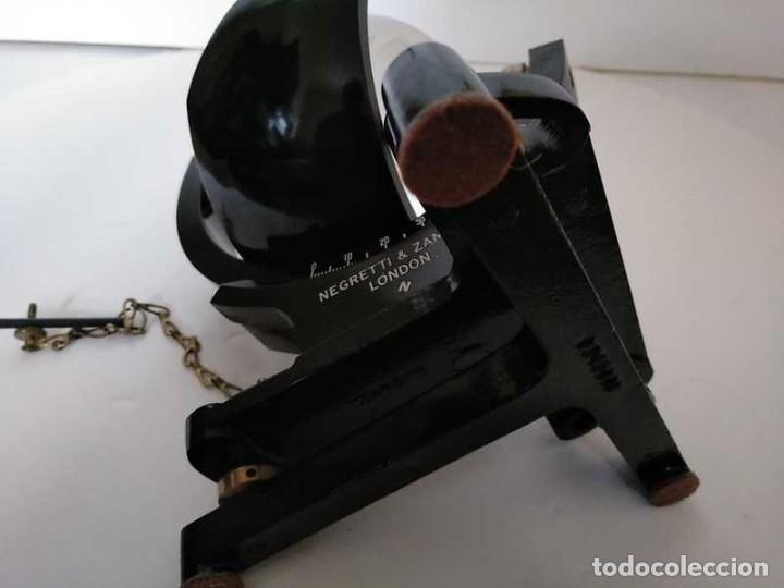 Antigüedades: HELIOGRAFO CAMPBELL STOKES SUNSHINE RECORDER NEGRETTI & ZAMBRA LONDON GRABADOR DE LUZ SOLAR HELIOGRA - Foto 227 - 180193120