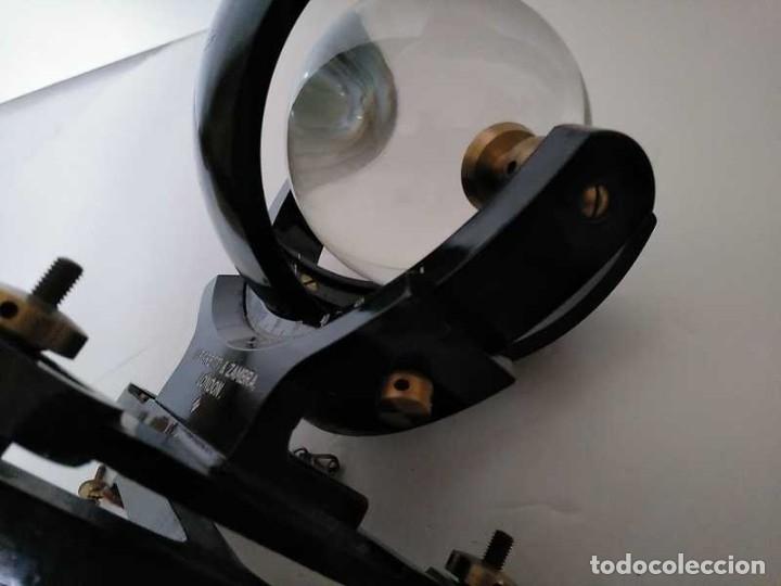Antigüedades: HELIOGRAFO CAMPBELL STOKES SUNSHINE RECORDER NEGRETTI & ZAMBRA LONDON GRABADOR DE LUZ SOLAR HELIOGRA - Foto 228 - 180193120