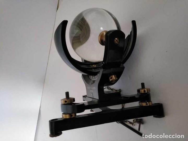 Antigüedades: HELIOGRAFO CAMPBELL STOKES SUNSHINE RECORDER NEGRETTI & ZAMBRA LONDON GRABADOR DE LUZ SOLAR HELIOGRA - Foto 229 - 180193120