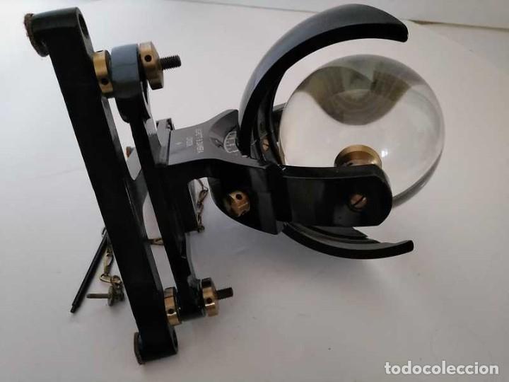 Antigüedades: HELIOGRAFO CAMPBELL STOKES SUNSHINE RECORDER NEGRETTI & ZAMBRA LONDON GRABADOR DE LUZ SOLAR HELIOGRA - Foto 230 - 180193120