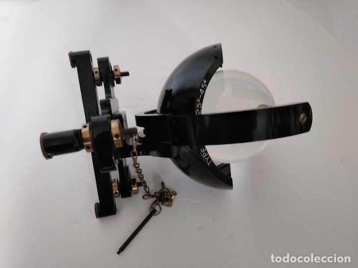 Antigüedades: HELIOGRAFO CAMPBELL STOKES SUNSHINE RECORDER NEGRETTI & ZAMBRA LONDON GRABADOR DE LUZ SOLAR HELIOGRA - Foto 231 - 180193120