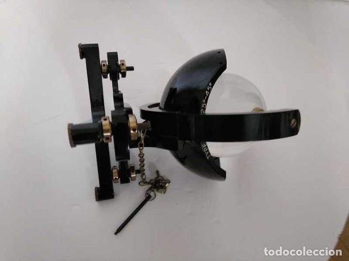 Antigüedades: HELIOGRAFO CAMPBELL STOKES SUNSHINE RECORDER NEGRETTI & ZAMBRA LONDON GRABADOR DE LUZ SOLAR HELIOGRA - Foto 232 - 180193120