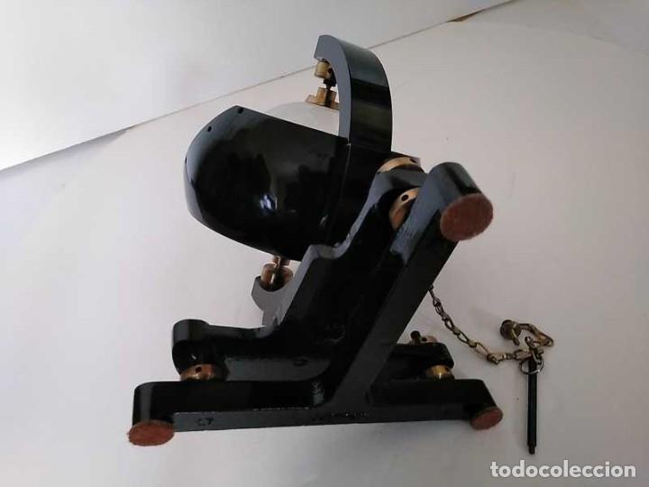 Antigüedades: HELIOGRAFO CAMPBELL STOKES SUNSHINE RECORDER NEGRETTI & ZAMBRA LONDON GRABADOR DE LUZ SOLAR HELIOGRA - Foto 233 - 180193120