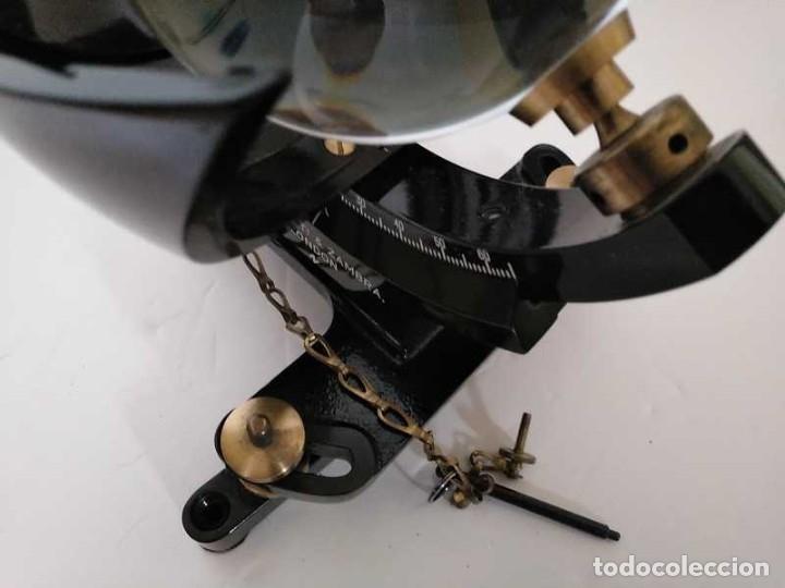 Antigüedades: HELIOGRAFO CAMPBELL STOKES SUNSHINE RECORDER NEGRETTI & ZAMBRA LONDON GRABADOR DE LUZ SOLAR HELIOGRA - Foto 240 - 180193120