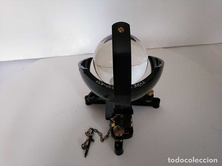 Antigüedades: HELIOGRAFO CAMPBELL STOKES SUNSHINE RECORDER NEGRETTI & ZAMBRA LONDON GRABADOR DE LUZ SOLAR HELIOGRA - Foto 252 - 180193120