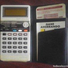 Antigüedades: ANTIGUA CALCULADORA CASIO ALARM COMPUTER MODEL AQ 810. Lote 180205021