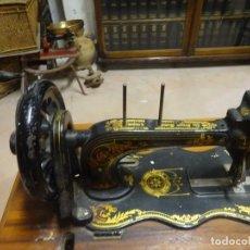 Antigüedades: MAQUINA COSER SINGER. Lote 180226187
