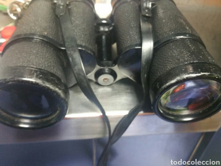 Antigüedades: PRISMATICOS CON FUNDA MARCA ZENITH COAPTiVED OPTIC 12X50 FIELD 5 °. ES DE LOS AÑOS 70. - Foto 5 - 180257920