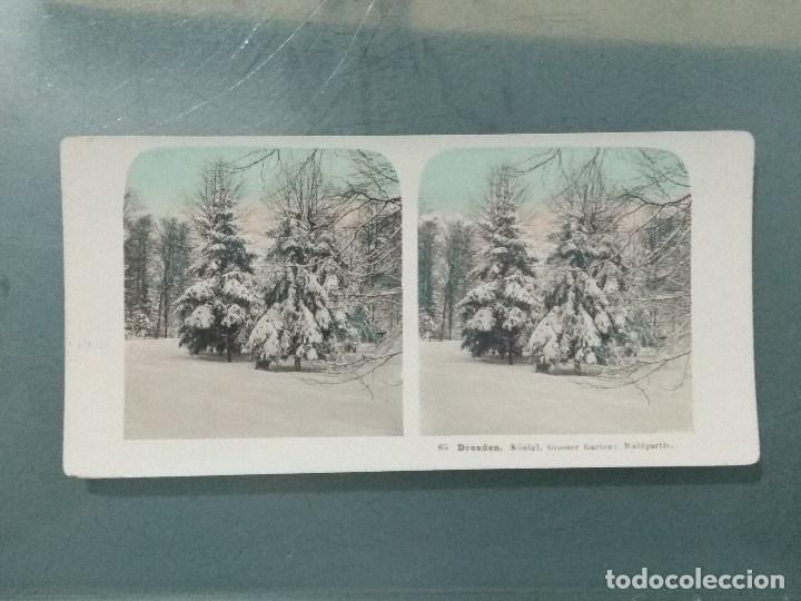Antigüedades: VISOR ESTEREOSCOPIO PERFECSCOPE USA AÑO 1895. Original. - Foto 6 - 180270453