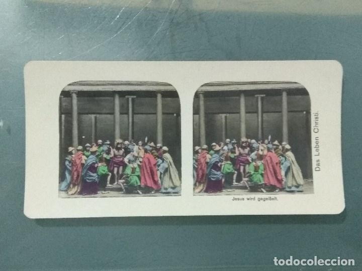 Antigüedades: VISOR ESTEREOSCOPIO PERFECSCOPE USA AÑO 1895. Original. - Foto 7 - 180270453