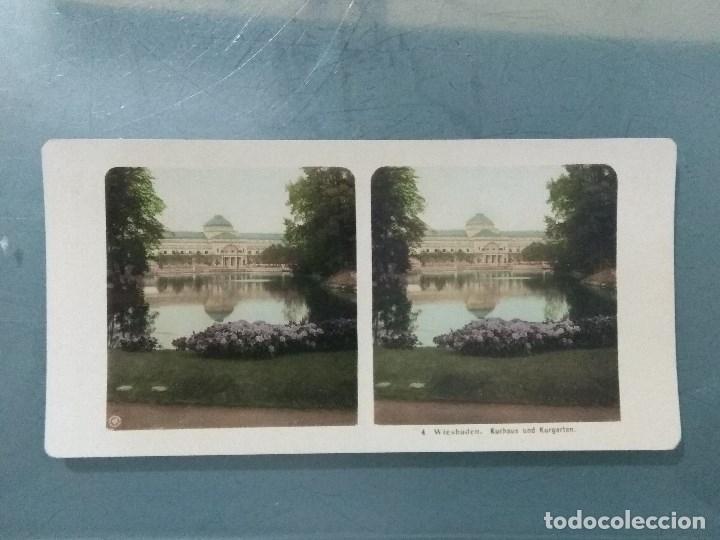 Antigüedades: VISOR ESTEREOSCOPIO PERFECSCOPE USA AÑO 1895. Original. - Foto 8 - 180270453