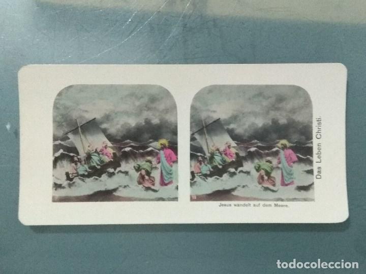 Antigüedades: VISOR ESTEREOSCOPIO PERFECSCOPE USA AÑO 1895. Original. - Foto 9 - 180270453