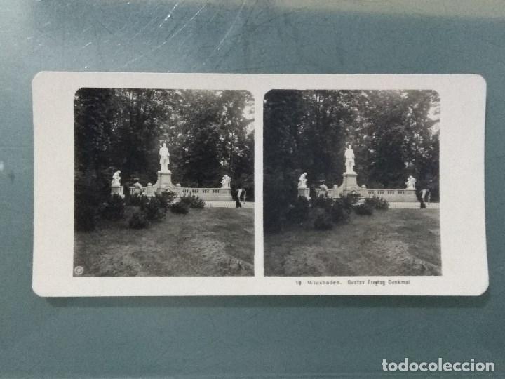Antigüedades: VISOR ESTEREOSCOPIO PERFECSCOPE USA AÑO 1895. Original. - Foto 13 - 180270453