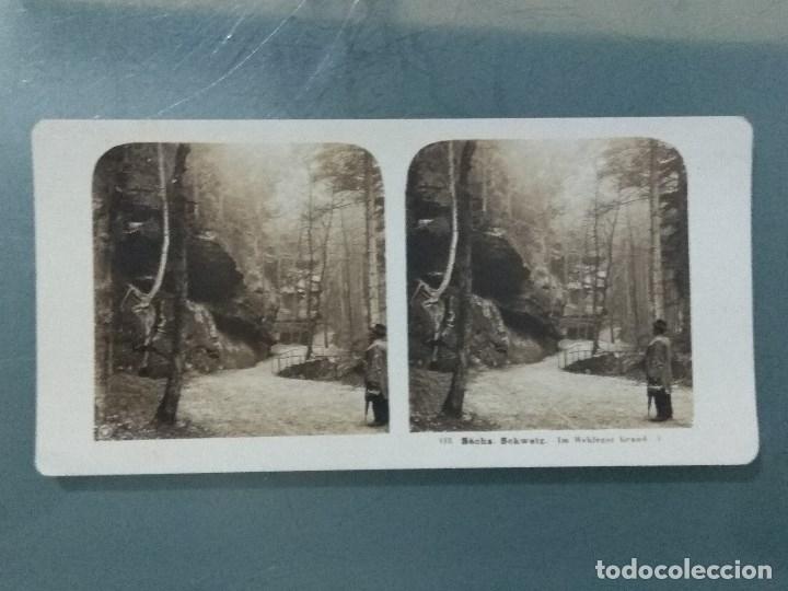 Antigüedades: VISOR ESTEREOSCOPIO PERFECSCOPE USA AÑO 1895. Original. - Foto 14 - 180270453