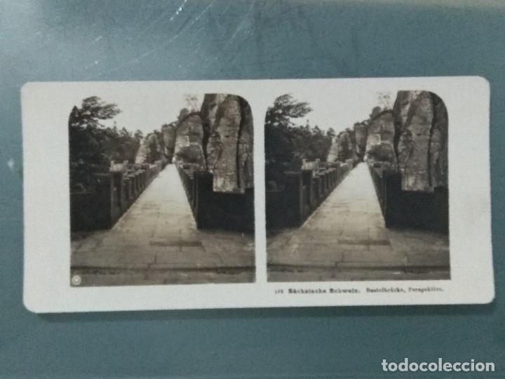 Antigüedades: VISOR ESTEREOSCOPIO PERFECSCOPE USA AÑO 1895. Original. - Foto 17 - 180270453