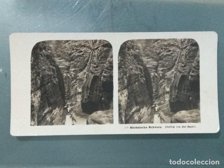 Antigüedades: VISOR ESTEREOSCOPIO PERFECSCOPE USA AÑO 1895. Original. - Foto 18 - 180270453