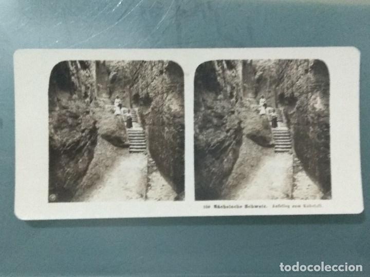 Antigüedades: VISOR ESTEREOSCOPIO PERFECSCOPE USA AÑO 1895. Original. - Foto 19 - 180270453