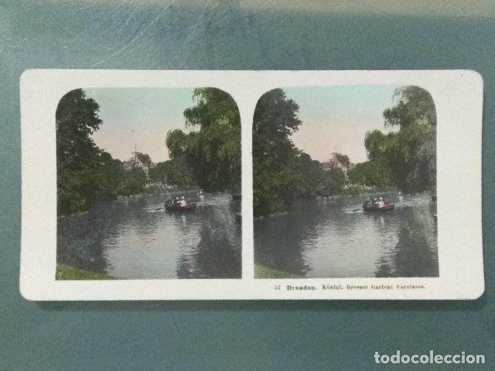 Antigüedades: VISOR ESTEREOSCOPIO PERFECSCOPE USA AÑO 1895. Original. - Foto 22 - 180270453