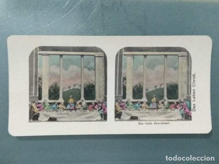 Antigüedades: VISOR ESTEREOSCOPIO PERFECSCOPE USA AÑO 1895. Original. - Foto 23 - 180270453