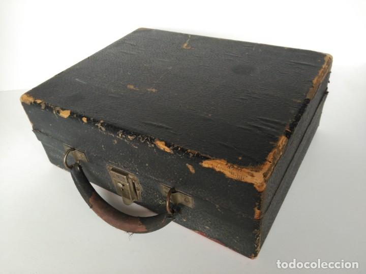 MALETA DE MÁQUINA DE ESCRIBIR, MARCA CORONA (Antigüedades - Técnicas - Máquinas de Escribir Antiguas - Otras)