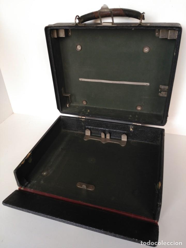 Antigüedades: Maleta de máquina de escribir, marca Corona - Foto 3 - 180274215