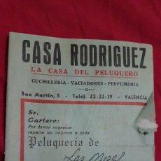 Antigüedades: INCREIBLE CATALOGO ARTICULOS DE PELUQUERO 1964. Lote 180288036