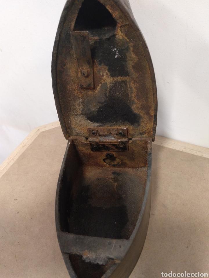 Antigüedades: PLANCHA DE CHIMENEA EN HIERRO FUNDIDO - Foto 5 - 180290952