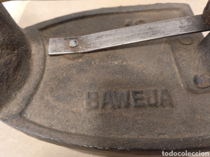 Antigüedades: PLANCHA DE CHIMENEA EN HIERRO FUNDIDO - Foto 8 - 180290952