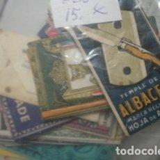Antigüedades: HOJAS DE AFEITAR LOTE DE 30 MODELOS DISTINTOS - PORTAL DEL COL·LECCIONISTA *****. Lote 180478318